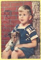 Tematica - Bambini - Bambino Con Cane - Wrote But Not Sent - Disegni Infantili