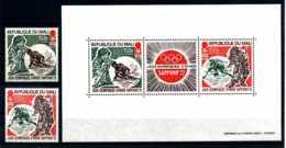 E17238)Olympia 72, Mali 309/10** + Bl 5** - Winter 1972: Sapporo