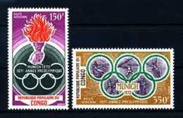 E17294)Olympia 72, Kongo Braz. 312/3** - Sommer 1972: München