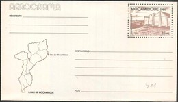 Mozambico/Mozambique: Intero, Stationery, Entier, Isola Mozambico, île, Island Mozambique, Map, Carte, Mappa - Isole