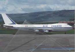 AIR FRANCE Boeing B747 F-BPVF At Glasgow UK - 1946-....: Ere Moderne
