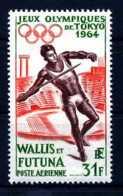 E18755)Olympia 64, Wallis & Futuna 205** - Summer 1964: Tokyo