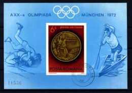 E18975)Olympia 72, Rumänien Bl 101 Gest. - Summer 1972: Munich