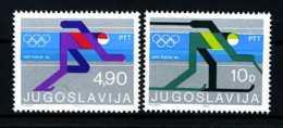 E19305)Olympia 80, Jugoslawien 1821/2** - Winter 1980: Lake Placid