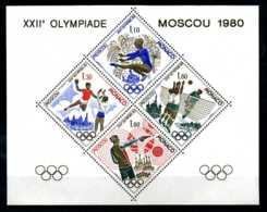 E19375)Olympia 80, Monaco 1415/8 Sonderdruckblock** - Summer 1980: Moscow