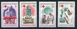 Mali YT 79-82 XX / MNH Croix Rouge Red Cross - Mali (1959-...)