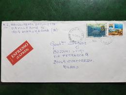 (8885) ITALIA STORIA POSTALE 1993 - 6. 1946-.. Repubblica