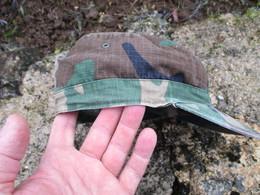 Casquette Syle US WW2 Vietnam Camo Camouflé Original Us Army Avec étiquette - Casques & Coiffures