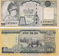 Népal 100 Ruppees - Népal