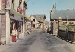 76 - St-Pierre-en-Port - Rue Principale - Circulé - Animée - TBE - Frankreich