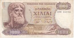BILLETE DE GRECIA DE 1000 DRACMAS DEL AÑO 1970 (BANK NOTE) - Grecia