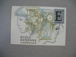 Carte-Maximum 1989   N° 2563 - Maximum Cards