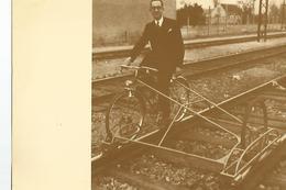 CPM Curiosites Ferroviaires Le Velo Rail 1948 - Cartoline