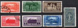 1929 - Regno Montecassino N. 262 - 68 Timbrati Serie Completa Used - 1900-44 Victor Emmanuel III