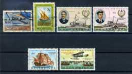 E20599)Schiffe, Mocambique 413 Gest. + 458 Gest. + 537/8 + 545 + 564 - Schiffe
