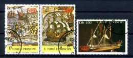 E20686)Schiffe, St. Thomas & Prinzeninseln 1010-12 Gest. - Schiffe