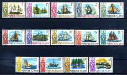 E21232)Schiffe, Norfolk-Inseln 79/92 Gest. - Schiffe