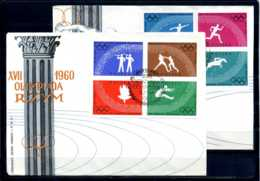 E21953)Olympia 60, Polen 1166/73 B FDC - Sommer 1960: Rom