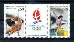 E22002)Olympia 92, Franz. Andorra 434/5 ZDR** - Winter 1992: Albertville