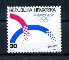 E22203)Olympia 92, Kroatien 188** - Winter 1992: Albertville