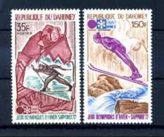 E22357)Olympia 72, Dahomey 470/1** - Winter 1972: Sapporo