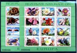E22422)Rumänien Bl 235** + 236** - 1948-.... Republiken