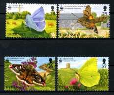 E22952)WWF, Guernsey 729/32** - W.W.F.