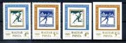 E23302)Olympia 84, Ungarn 3743/4 A + B** - Hiver 1984: Sarajevo