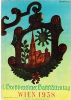 Propaganda Karte, 1. Großdeutscher Gaststättentag - Wien 1938 - Weltkrieg 1939-45
