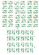 Lot De 5 Carnets De 12 TVP LV - Carnets
