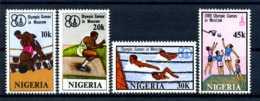E23849)Olympia 80, Nigeria 368/71** - Ete 1980: Moscou