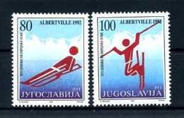 E23969)Olympia 92, Jugoslawien 2523/4** - Winter 1992: Albertville