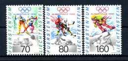 E23986)Olympia 92, Liechtenstein 1030/2** - Winter 1992: Albertville