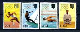 E24051)Olympia 92, Fidschi-Inseln 660/3** - Summer 1992: Barcelona