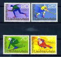 E24323)Olympia 76, Liechtenstein 635/8** - Winter 1976: Innsbruck