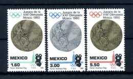 E24561)Olympia 80, Mexico 1718/20** - Ete 1980: Moscou
