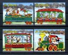 E24722)Disney, St. Vincent 1140-3** - Disney