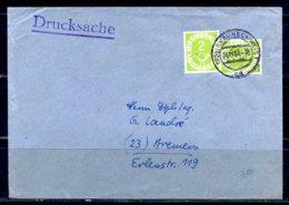 E24808)Bund 123, 2 Stück Auf Drucksache - [7] Federal Republic
