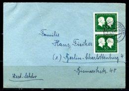 E24836)Bund 197 Paar Auf Brief - [7] Federal Republic