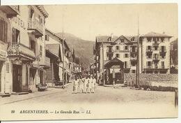 74 - ARGENTIERES / GRANDE RUE - France