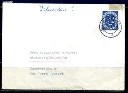 E24954)Bund 132 Auf Brief Nach Schweden - [7] Federal Republic