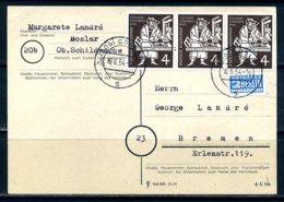 E25051)Bund 198, 3er-Streifen Karte - [7] Federal Republic