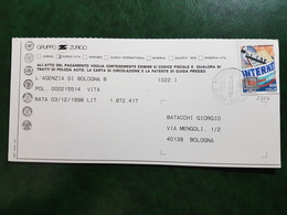(8900) ITALIA STORIA POSTALE 1998 - 6. 1946-.. Repubblica
