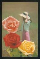 Ed. C. Y Z. Nº 6049-B. Nueva. - Flores