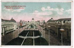 Gent, Exposition Universelle De Gand 1913, Panorama De La Cour D'Honneur (pk52743) - Gent