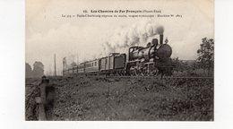 LES CHEMINS DE FER FRANCAIS (Ouest-Etat) Le 315 Paris-Cherbourg Express Du Matin Wagon Restaurant  Machine N°2303. - Trains