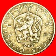 # SHIELD (1966-1990): CZECHOSLOVAKIA ★ 5 CROWNS 1967! LOW START ★ NO RESERVE! - Tchécoslovaquie