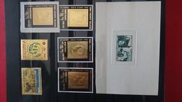 Bon Ensemble De 123 Timbres Or Et Argent, Épreuves, Non Dentelés, D'Afrique.Côte Sympa - Briefmarken
