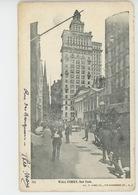 U.S.A. - NEW YORK CITY - Wall Street - Wall Street