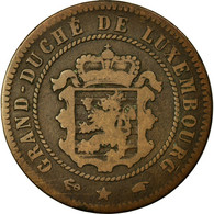 Monnaie, Luxembourg, William III, 5 Centimes, 1855, Paris, TB, Bronze, KM:22.2 - Luxembourg